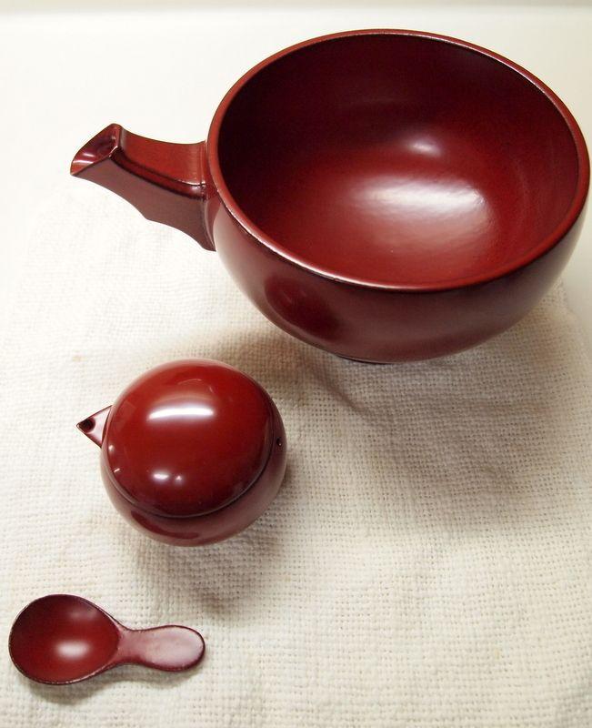 Wajimanuri lacquer ware, Ishikawa, Japan 輪島塗
