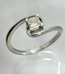 Buy 925 sterling silver rhodium plated ring Ring online