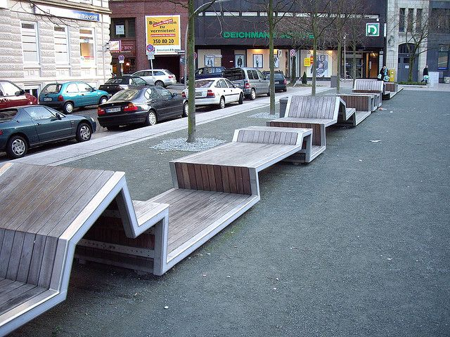 Urban furniture - hamburg . is zakich