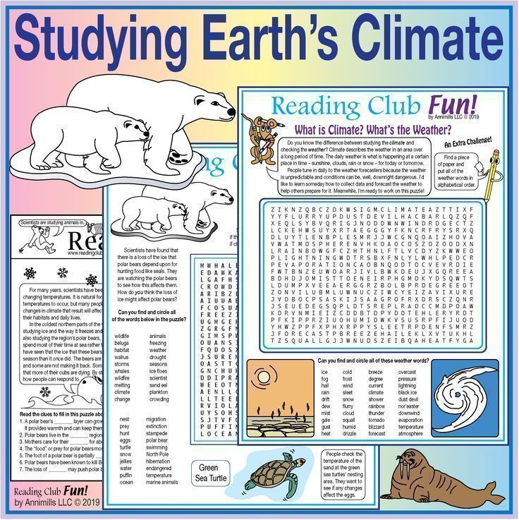 Studying Earth S Climate Changing Climate Animal Survival