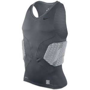 Get compression and protection with the Nike Pro Combat Hyperstrong Basketball Top.