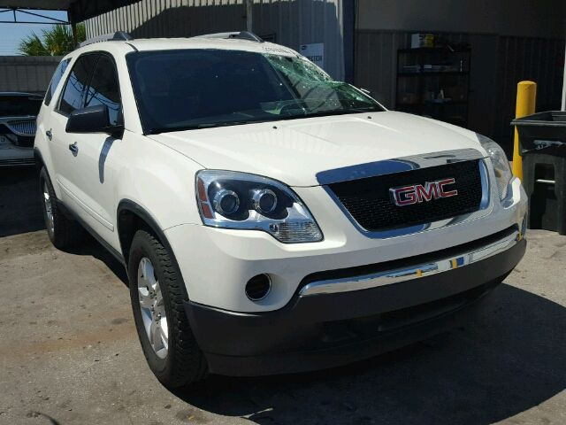 2010 #GMC #ACADIA SL 3.6L 6 for Sale at #Copart Auto Auction. Register to Bid Now