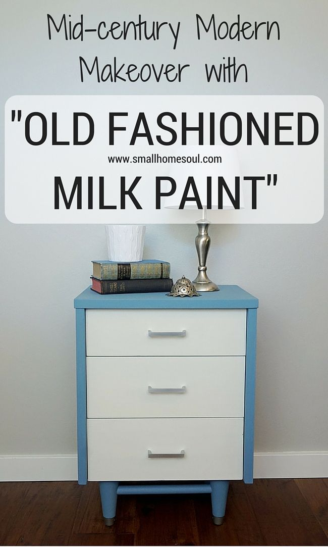 Milk paint can transform a tired, beat up piece furniture into a beautiful and updated piece perfect for any…
