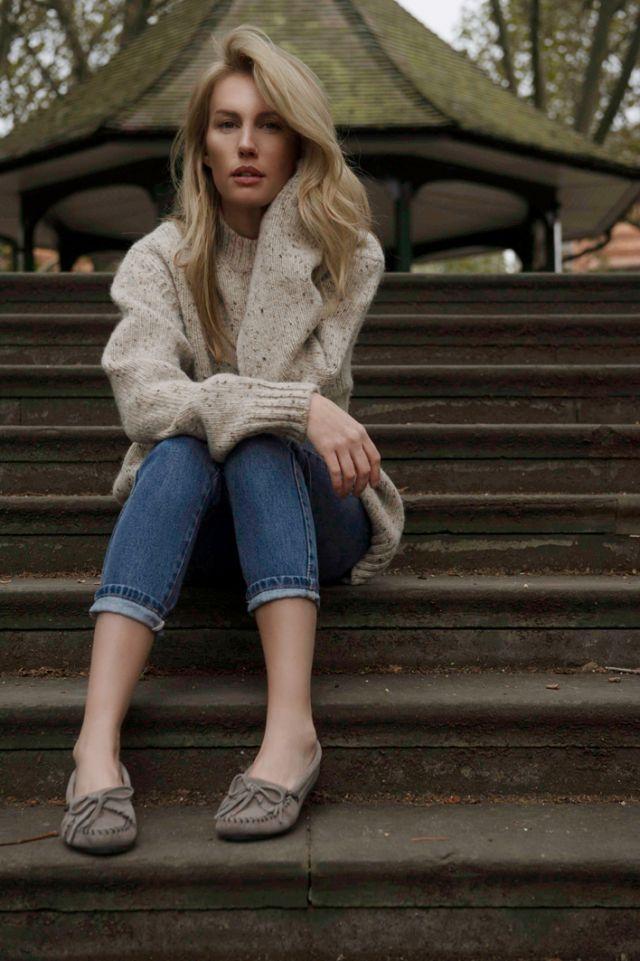 Everyday Adventure   London   Minnetonka Moccasin Liz Gardner Ashley Camper Chloe Webb
