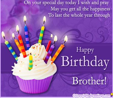 Brother Happy Birthday Message Happy Birthday Quotes For Brother