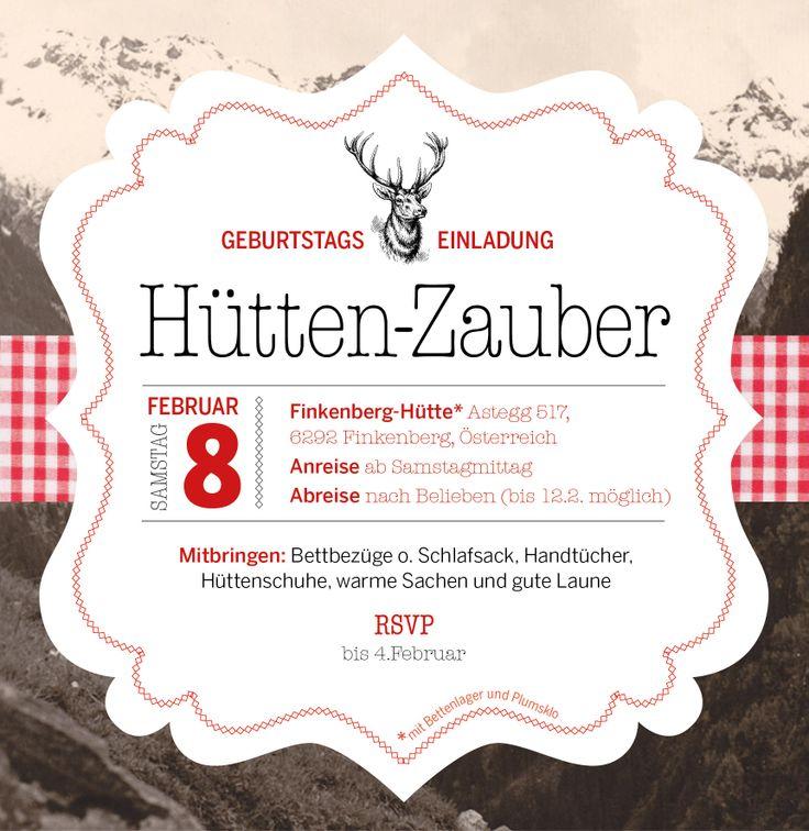 57 besten Einladung Bilder auf Pinterest | Einladungen ...