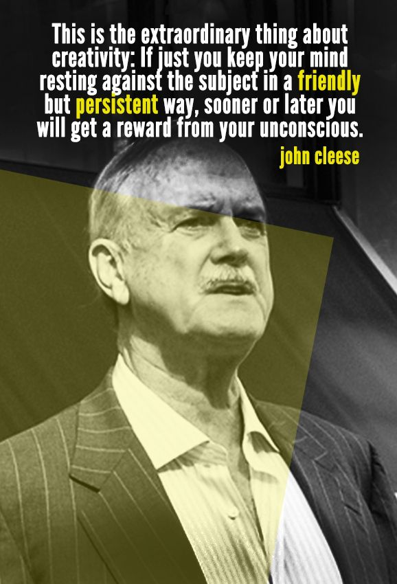 John Cleese   10 Quotes To Inspire Your Inner Creative