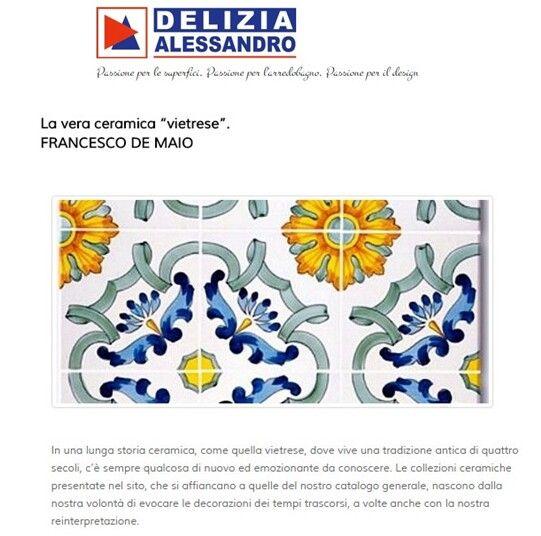 ceramica Francesco De Maio | ceramica Vietrese