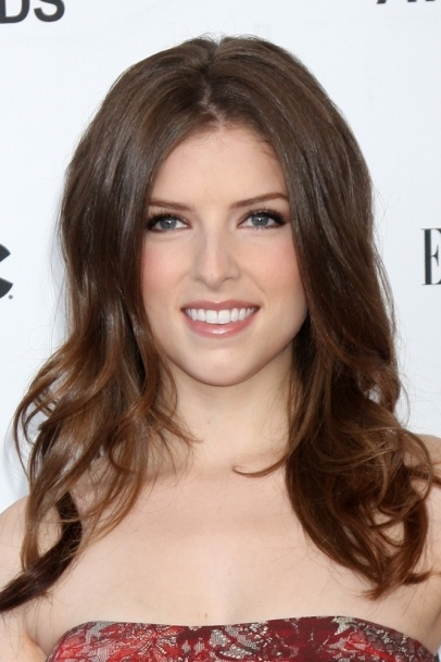 Anna Kendrick. Love her hair. Brown with a tint of red :)
