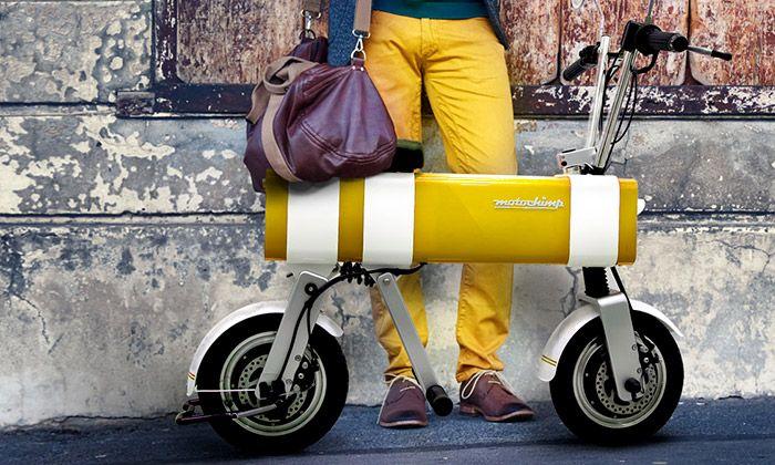 Motochimp je malá elektrická motorka do města