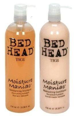 TIGI Bed Head moisture maniac Shampoo & Condtioner. SMELLS FANTASTIC! Great for curly days