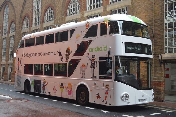 New Routemaster LT 53 (LTZ 1053). Liverpool Street Bus Station. 26.11.2014