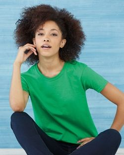 Gildan- Womens Fashion- Cute Blank T-Shirt- Super Heavy 100% Cotton -2000L