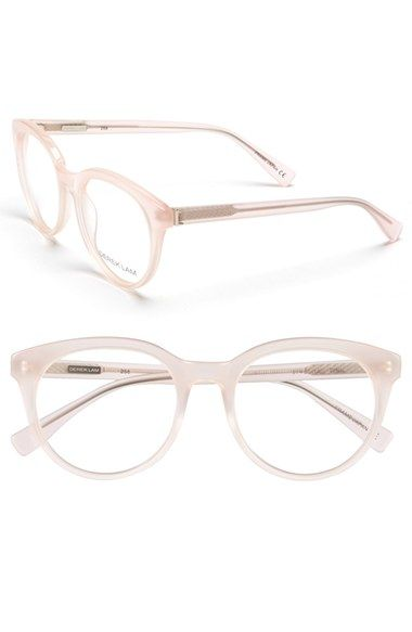 Derek Lam 51mm Optical Glasses at Nordstrom.com. A bold, rounded silhouette lends geek-chic couture to handmade acetate frames in a standout hue.