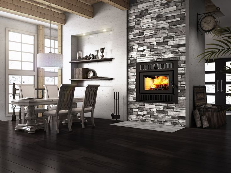 Foyer au bois Valcourt FP14 Cartier