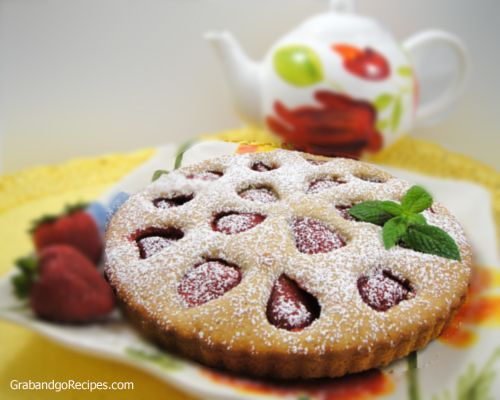 Italian Strawberry Tart Recipe,