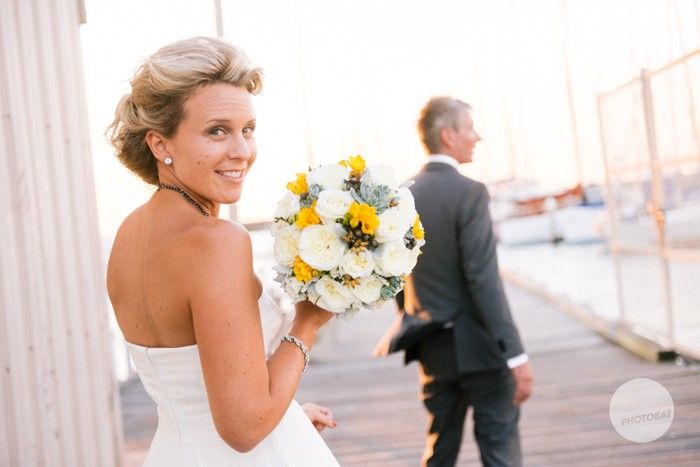 A fantastic jetty for some bridal portraits #flowers #bride #melbourne #sandringham #pretty #beautiful @Events at SYC