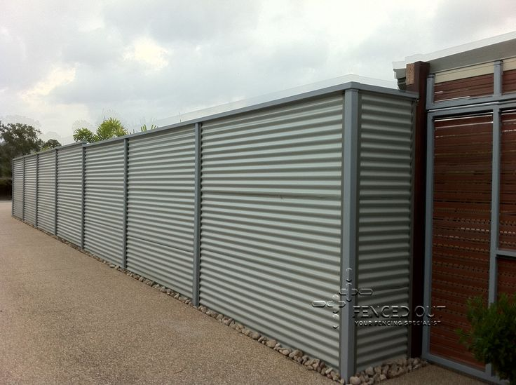 Corrugated Metal Fence And Corrugated Metal Fences All
