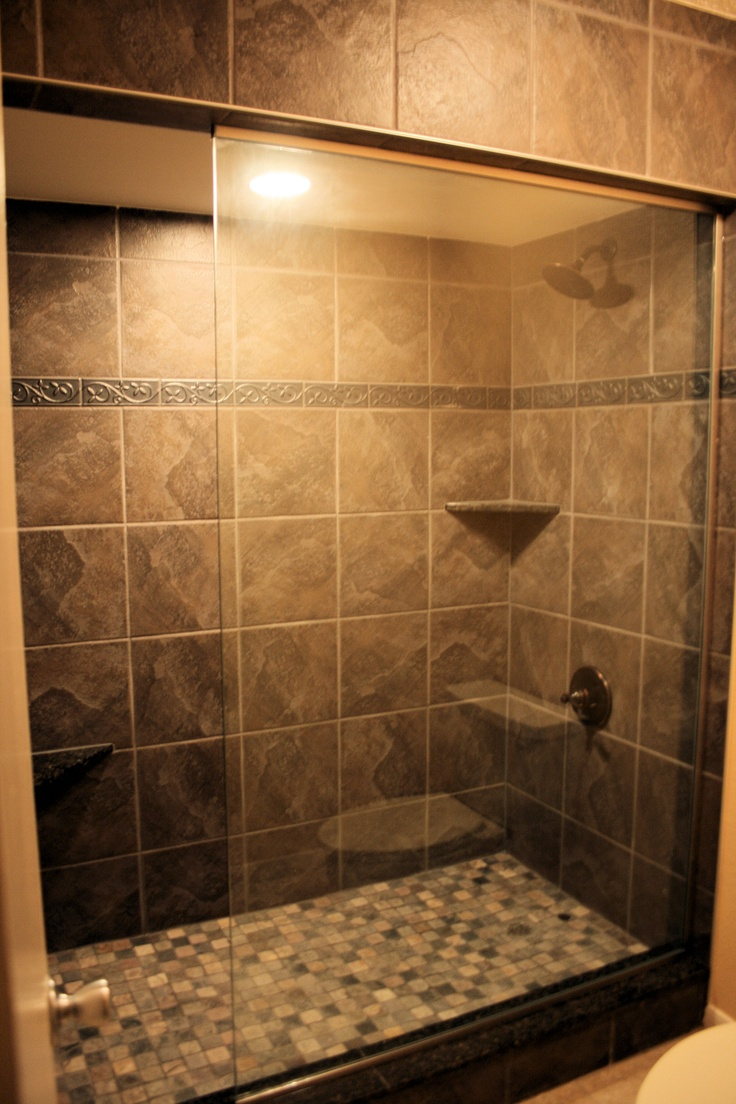 Super large walk in shower in master port royal 6114 for Huge walk in shower