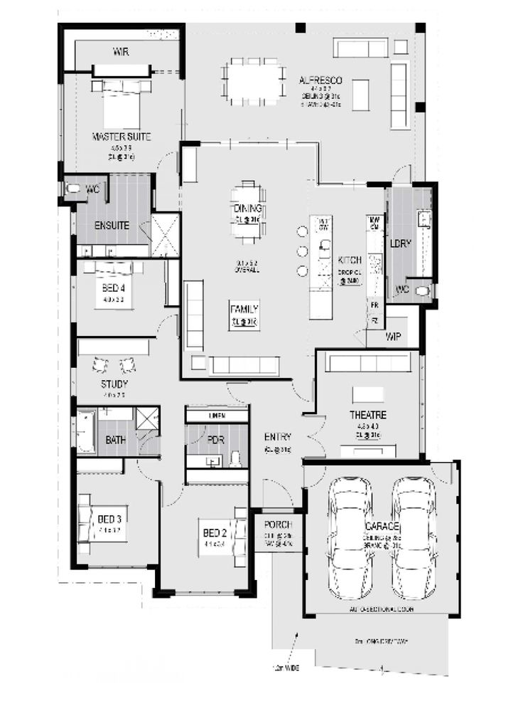 63 best House plans images on Pinterest   House facades ...