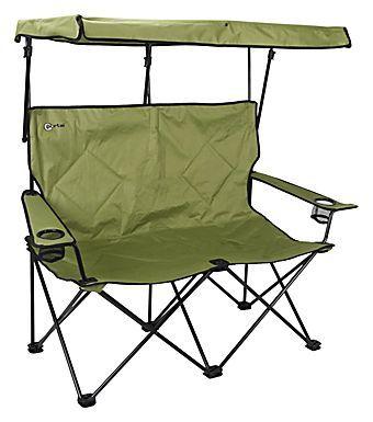 outdoor canopy chair walgreens ultra lightweight transport burgundy portal double bass pro shops camping