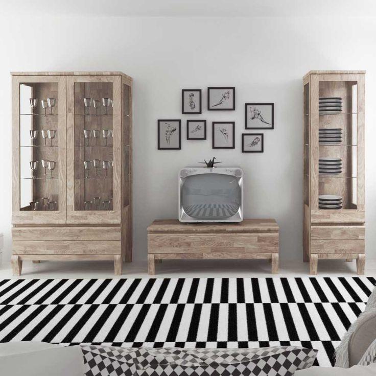 Schraenke Wohnzimmerschrank Holz Anbauw Massiv Schrank Wohnzimme Wohnzimmerw Modern Echtholz Massivholz Wohnw Wohnzimmer Wohnwaende