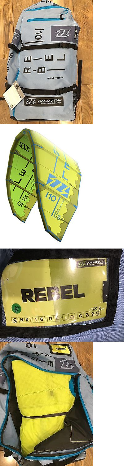 Kites Lines 114264: New 2016 North Kiteboarding Rebel 10M Kite Only -> BUY IT NOW ONLY: $1199 on eBay!