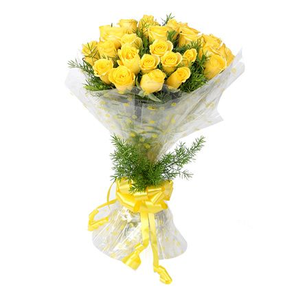 Yellow Roses Bouquet for you.