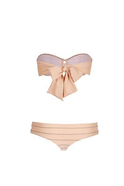 The Girl and The Water - ACACIA Swimwear 2014 - Mumbai Bikini Bottom Indigo - $110