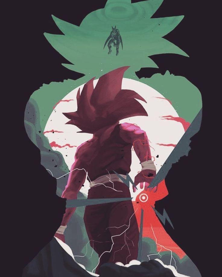 Gohan Goku and Cell