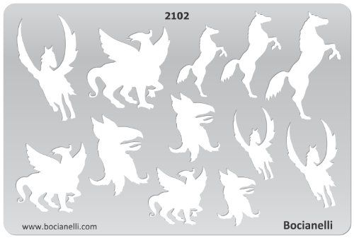 Plastic Stencil Template for Graphical Design Drawing Drafting Metal Clay Jewellery Jewelry Making - Horse, Pegasus Bocianelli http://www.amazon.com/dp/B005IP2EH4/ref=cm_sw_r_pi_dp_vp3Aub0J518T4