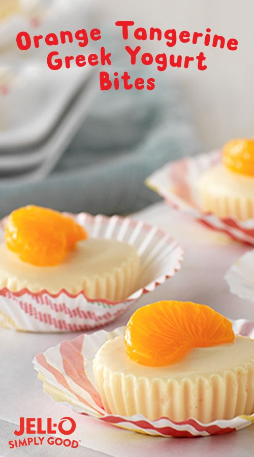 JELL-O SIMPLY GOOD brings big citrus flavor to this creamy, cool little treat. In about an hour you can turn JELL-O SIMPLY GOOD orange tangerine gelatin, flavored with real orange juice, plain Greek yogurt and mandarin oranges into a sweet highlight of your day. JELL-O SIMPLY GOOD is made with no artificial flavors, dyes or preservatives for a Delightfully Honest treat.