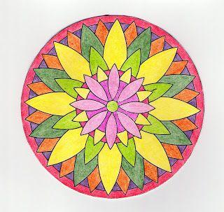 Mandalas Para Pintar: mandalas pintados