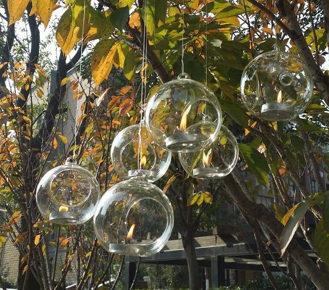 12 unids candelabros colgando globo de cristal al por mayor,, 8/10 cm ronda florero jardinera, fuentes de la boda (de FONDO Plano) en Jarrones de Hogar y Jardín en AliExpress.com | Alibaba Group
