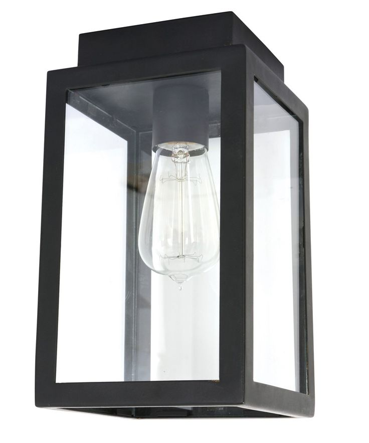 Southampton 1 Light DIY Undereave Light in Antique Black