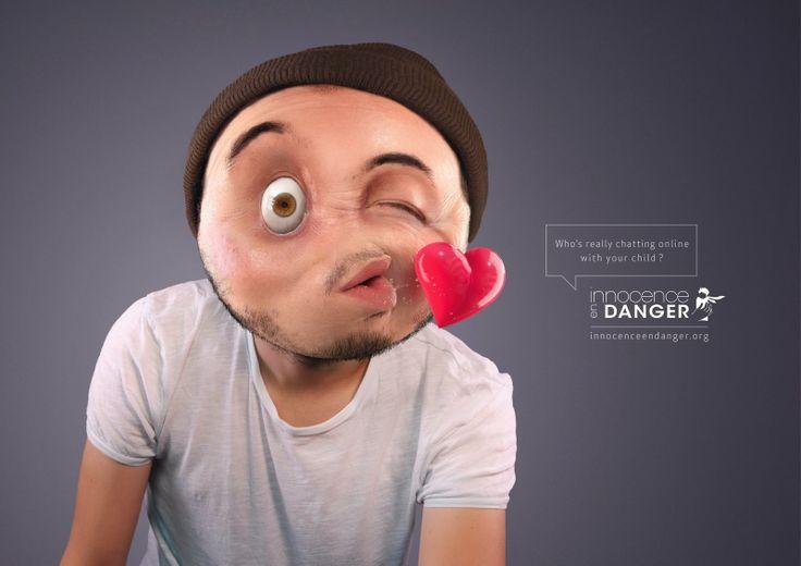 Innocence en Danger: Una campaña que nos muestra lo que puede haber tras los emoticonos del chat de tus hijos.