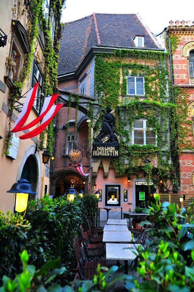 Der liebe Augustin, Vienna , Austria - went with my family - great food and service!!