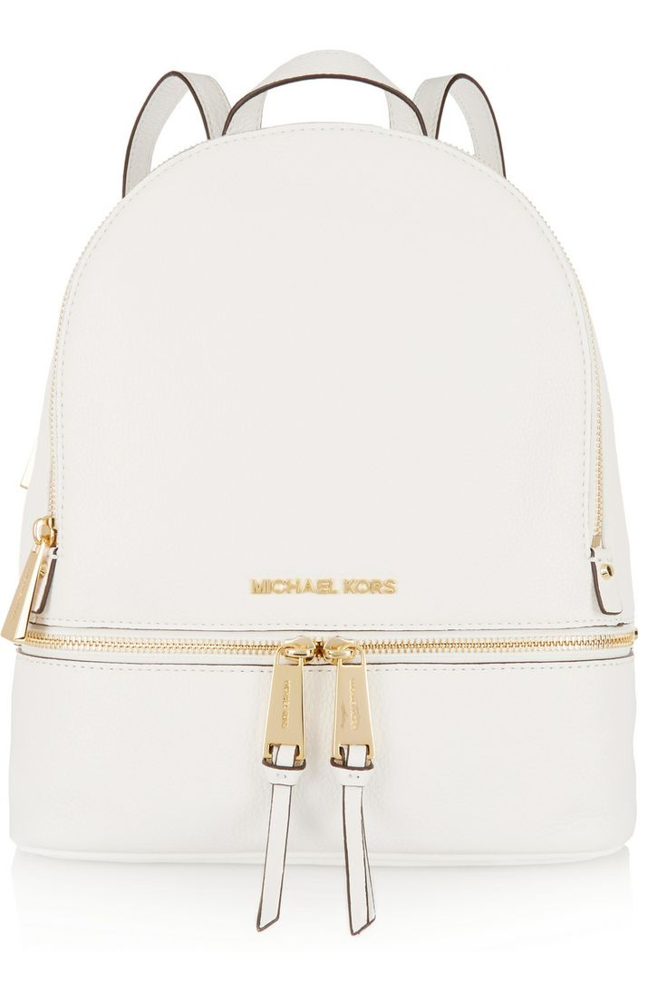 MICHAEL Michael Kors | Rhea textured-leather backpack