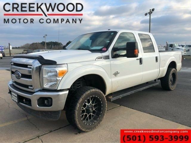2016 F 250 Xlt 4x4 Diesel White 1 Owner 20s New Tires Clean