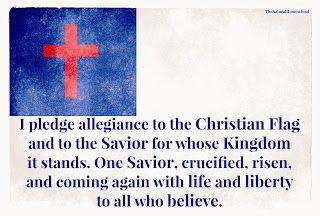 The Natural Homeschool: Free Printables. Pledge of Allegiance (American Flag, Christian Flag, Bible)