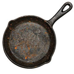 How to Clean Cast-Iron Cookware