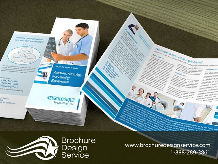 Brochure Design Sample For Neurology    Http://www.brochuredesignservice.com/. Bi Fold ...