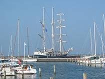 Talship de Thalassa. #Zeilen #schip #Waddenzee