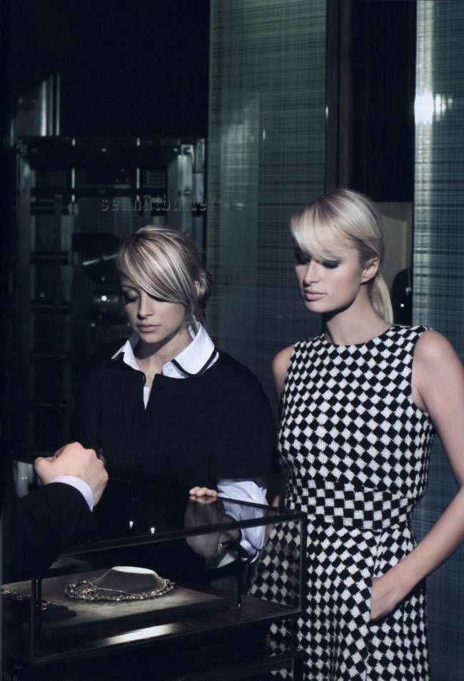 Harpers Bazaar - Partners in crime - Paris Hilton & Nicole Richie - Jun 2007