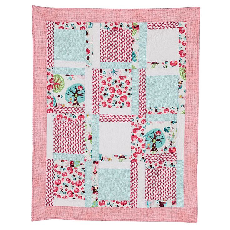 Apple Fairies - Baby Quilt 36x50 $250