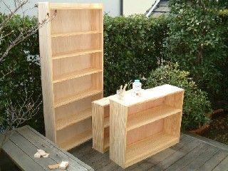 壁一面の本棚の作り方