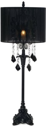 Black Chandelier Table Lamp Best Mini Chandeliers Decor And Design Pinterest Lamps