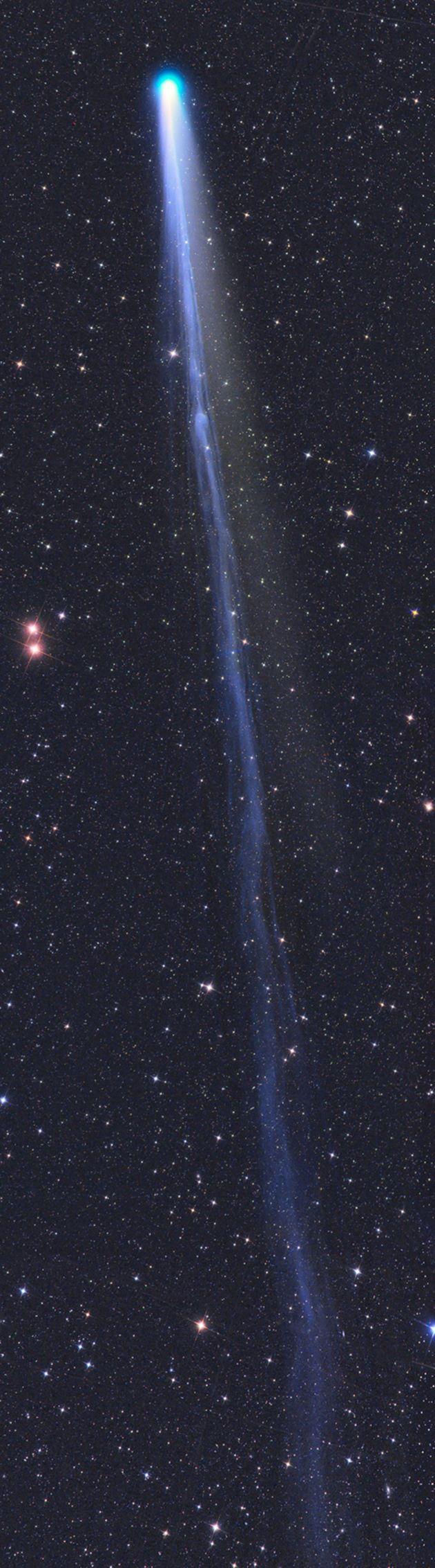 ¡Conozca a LoveJoy! El cometa más brillante visto en el espacio (+fotos)