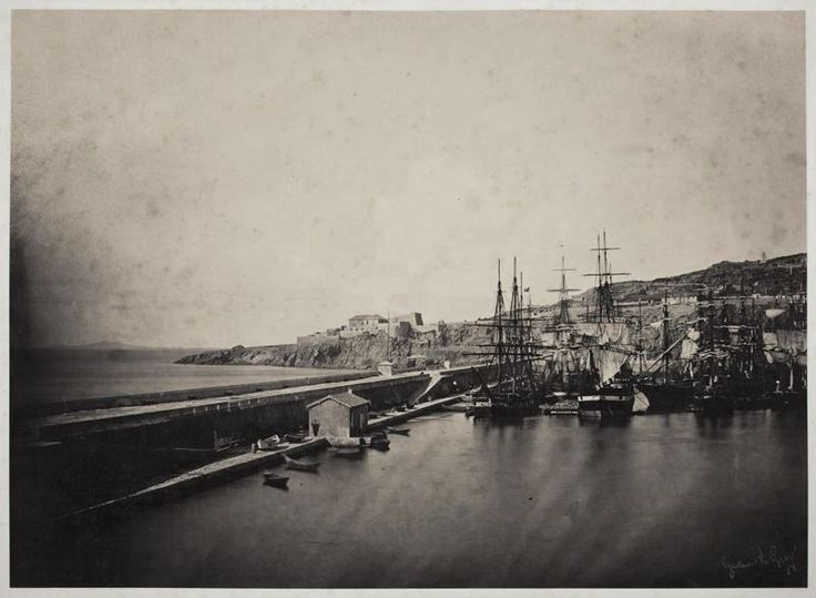 The Jetty at Sète, 1857