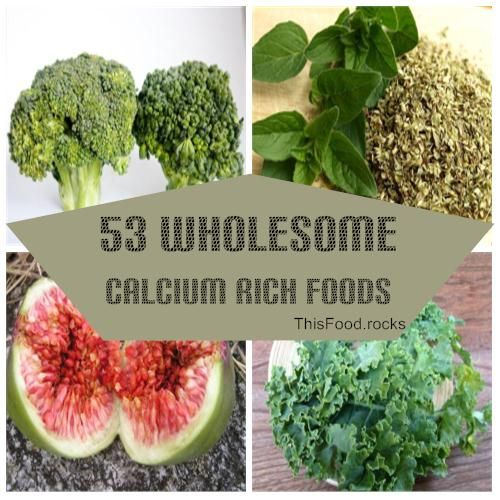 53 Wholesome Calcium Rich Foods